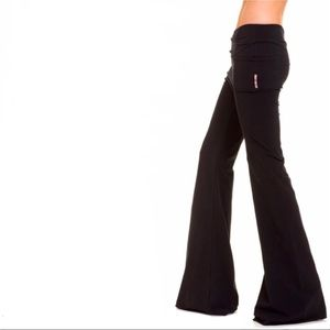 Talia Hancock Black Extra Wide Leg Lounge Pants